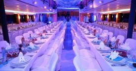 SeaStar – Corporate Dinner Set Up
