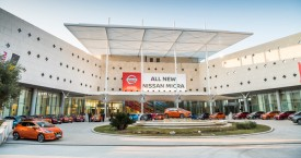 New Nissan Micra European Promotion Lineup - Dubrovnik Sun Gardens 2017