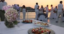 SeaStar -Sunset Cruise Set Up