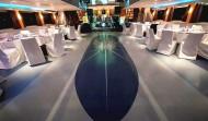 Veranstaltungsschiff Entertainment Setup