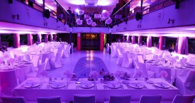 Sea Star Dinner Party Celebration Setup - Adriatic Sea Event Ship
