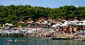 Beach Clubs - Carpe Diem Beach Bar Hvar, Croatia