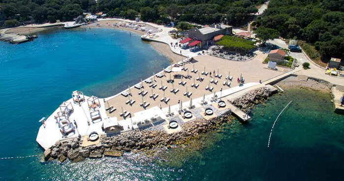 Top 5 Dubrovnik Beach Clubs Copacabana Club Lapad