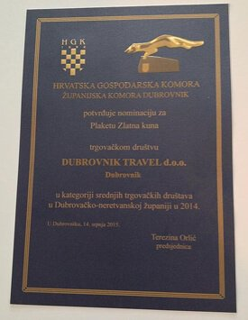 Zlatna Kuna Business Award