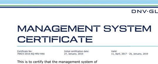 Improved Customer Satisfaction – ISO 9001-2015