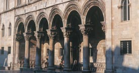 Dubrovnik Rector palace
