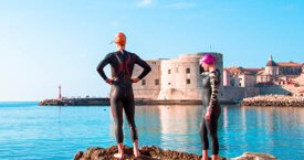 Dubrovnik Triathlon Event Swim - Earth, Sea & Fire