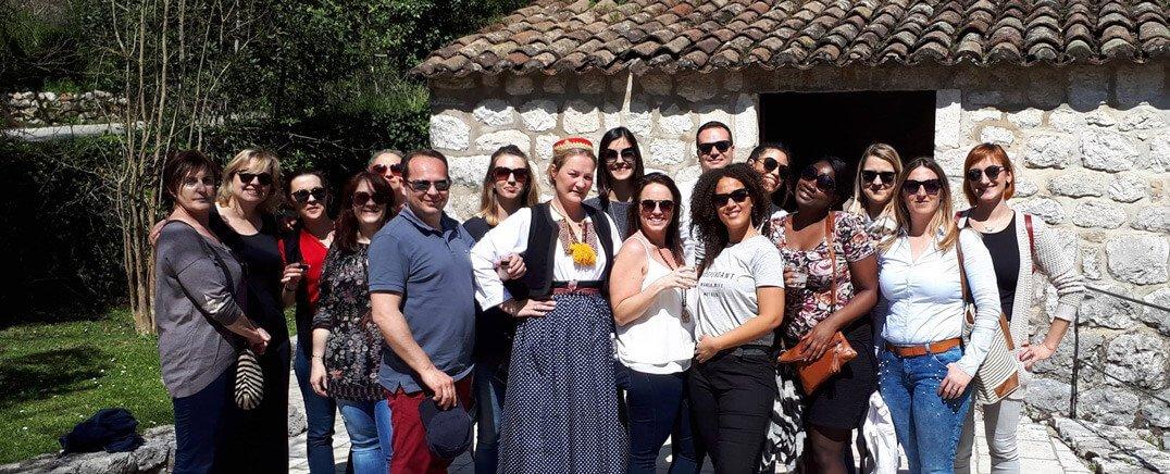 French education trip Dubrovnik