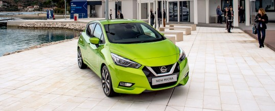 New Nissan Micra European Promotion 2017