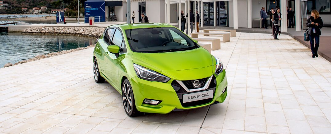 New Nissan Micra European Promotion Dubrovnik