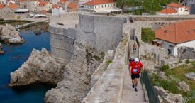 Team Building Trends in Croatia - Running the Dubrovnik city walls