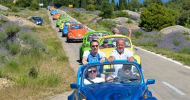 Split Riviera Top 5 Activities - Island Hvar - Beetle Cabrio Car Rally