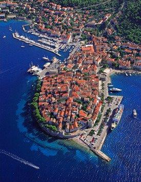 Discover Island Korcula city