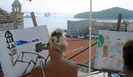 painting lessons program in Croatia