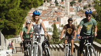 Biking in Split