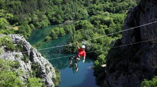 ZipLine in Split